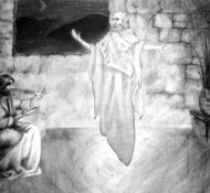 Engel Gabriel und Josef