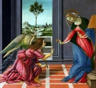 Verkündigung - Botticelli