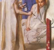 Verkündigung - Rossetti