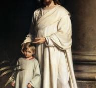 Christus mit Kind - Bloch
