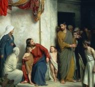 Christus und Kinder - Bloch