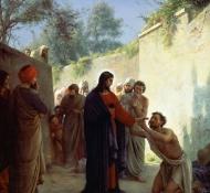 Christus heilt Blinde - Bloch